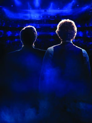 """A publicity photo for the jukebox musical """"The Simon & Garfunkel Story"""""""