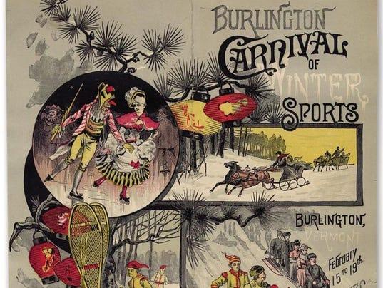 1886 carnival poster