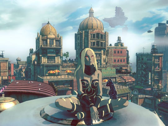Gravity Rush 2 features interesting aerial cityscapes.