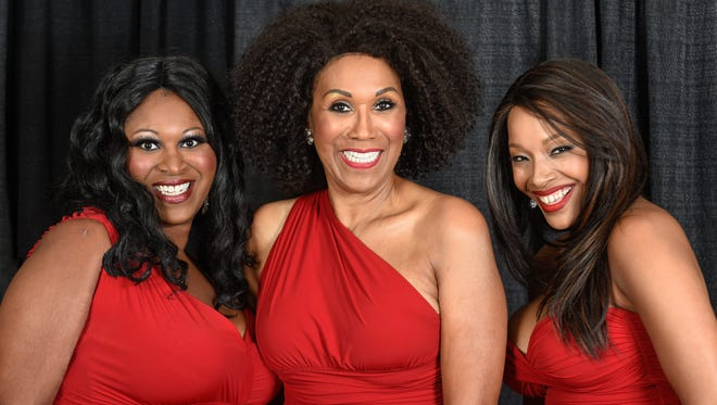 A recent publicity photo of Issa, Ruth and Sadako Pointer. The Pointer Sisters plan to perform in Springfield Oct. 14, 2016.