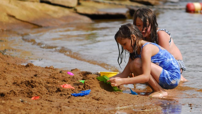 Dexter Park and North Wood County Park beaches are popular in the summer.