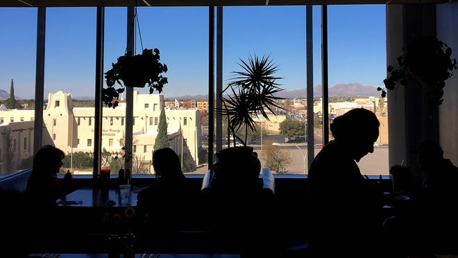 Abraham's Cafe is located on the fourth floor of the Wells Fargo Building with a view of the city in downtown Las Cruces. The cafe has been serving food at this location for more than 30 years.