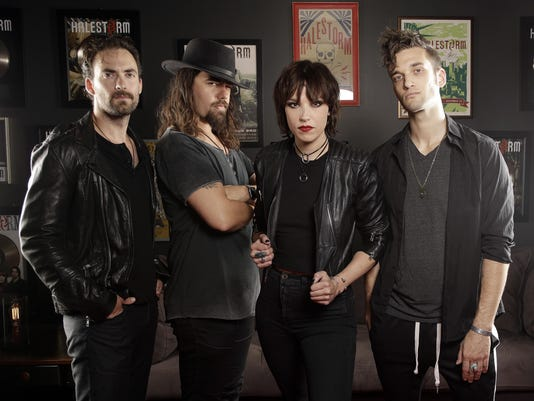 Lzzy Hale, Arejay Hale, Joe Hottinger, Josh Smith