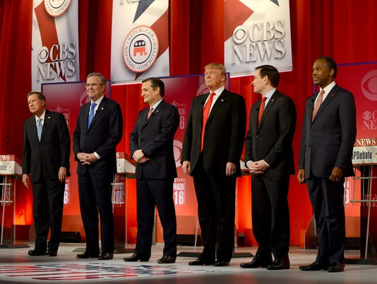 USP NEWS: REPUBLICAN DEBATE A ELN USA SC
