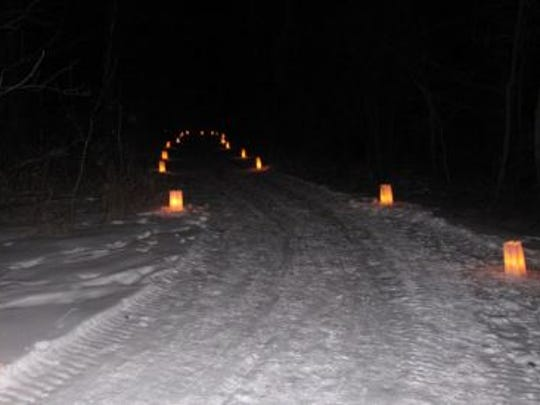 Candlelight events are popular in state parks in the