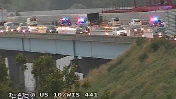 "A ""utility incident"" closed part of eastbound U.S. 10 at southbound Interstate 41 Friday morning."