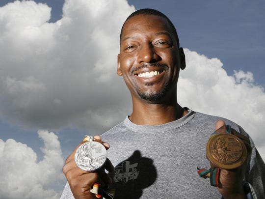 Former Fair Park star Hollis Conway got a bronze in 1992 and a silver in 1988 Olympics in the high jump.