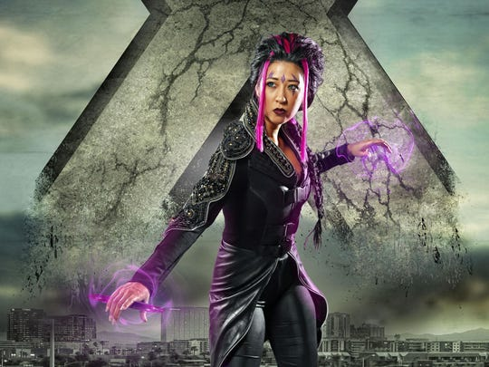 "Song Ja Park cosplays as Blink from ""X-Men: Days of"