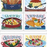 New Delicioso postage stamps dedicated to Latino cuisine