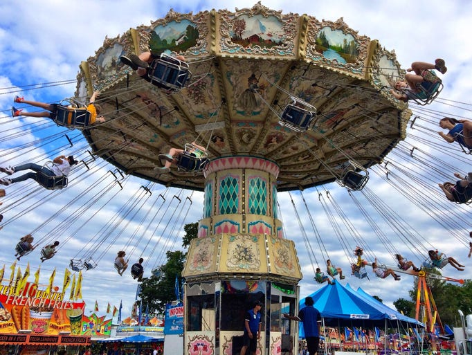 The Dutchess County Fair had the perfect weather to