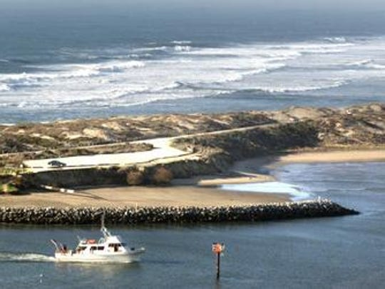 The Moss Landing State Beach is a popular stop for