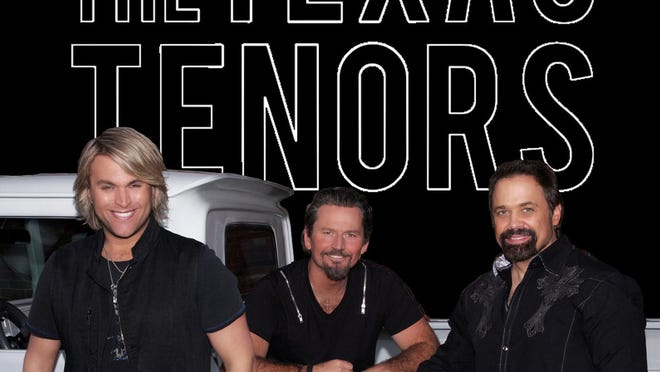 The Texas Tenors show at Tony's Pizza Events Center has been rescheduled to Dec. 13.