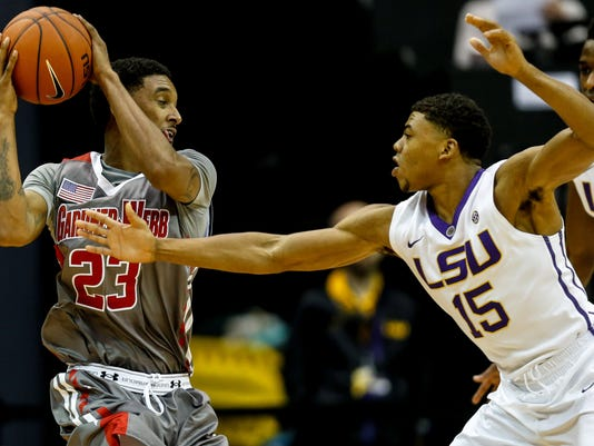 NCAA Basketball: Gardner-Webb at Louisiana State