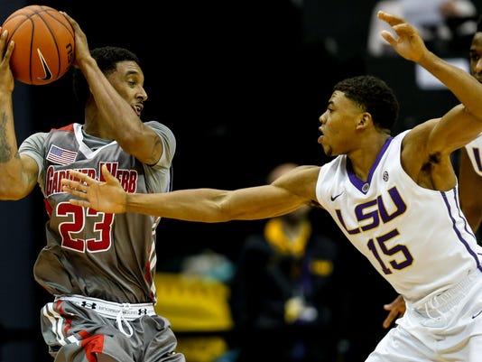 NCAA Basketball: Gardner-Webb at Louisiana State