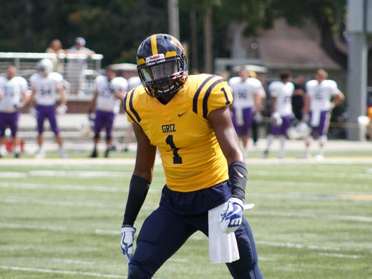Franklin College receiver Deontez Alexander is being evaluated by NFL teams for the draft.