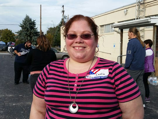 Leslie Kiesel, judge of elections, said turnout was