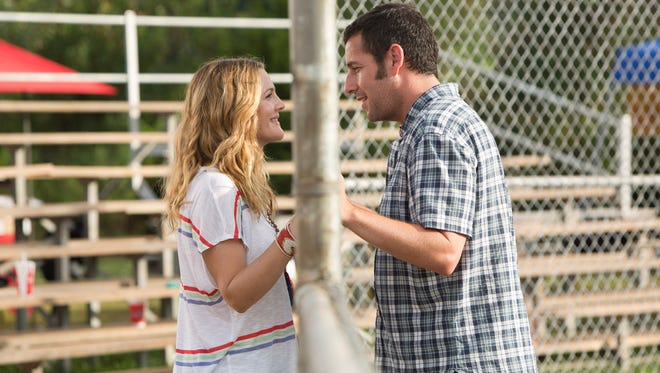 Drew Barrymore and Adam Sandler star together again.
