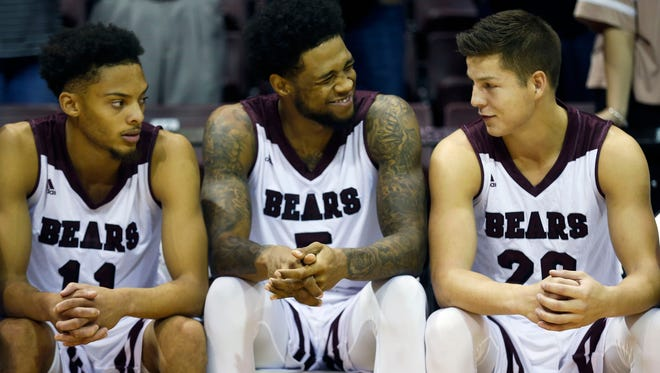 The Missouri State Bears took on the Southwest Baptist Bearcats at JQH Arena on Wednesday, Nov. 1, 2017