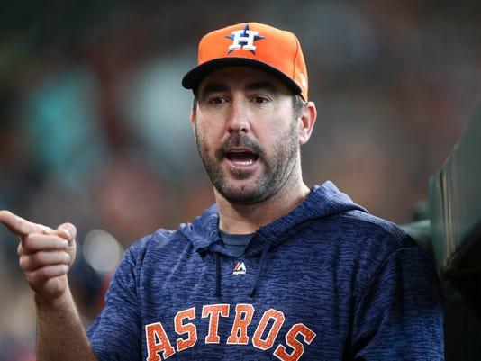 USP MLB: TEXAS RANGERS AT HOUSTON ASTROS S BBA HOU TEX USA TX