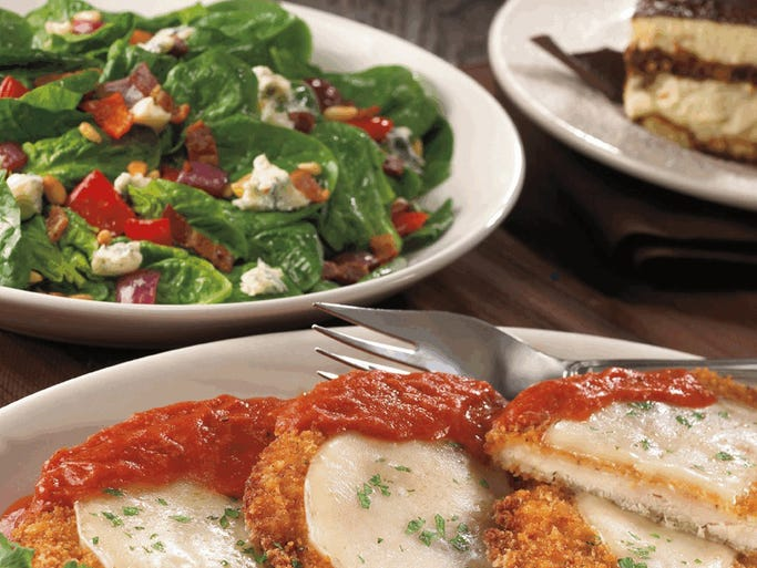 Maggiano's Family Chicken Dinner at Maggiano's Little Italy 3550 E. 86th St., (317) 814-0700, www.maggianos.com. <br />On your way home from last-minute shopping at the Fashion Mall, pick up a family carryout meal from this Keystone restaurant. Serving four people for $60, the meal includes four chicken breasts prepared piccata, marsala or parmesan style, as well as salad, rolls and a choice of pastas. Pucker up with the restaurant's popular lemon cookies for dessert.