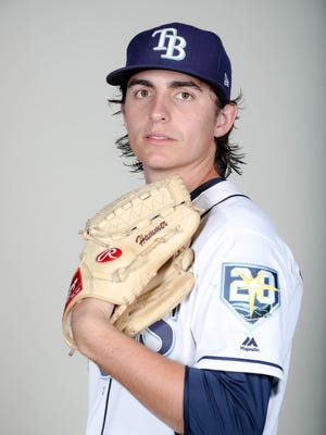 Brent Honeywell is the top pitching prospect in the Rays system.