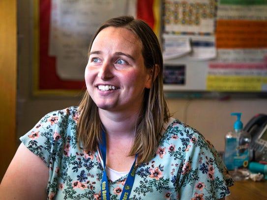 Samantha Liddell, 27, is a second-grade teacher at