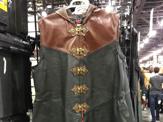 Leather Knight's Coat for $550 from Crimson Chain Leatherworks