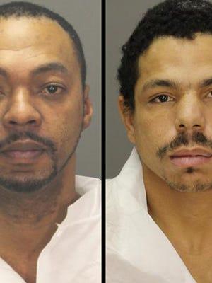 Terrence Johnson, left, and Randy Batts.