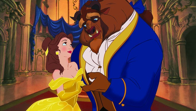 Here are Disney's Beauty and the Beast. Now pretend you see Hermione and Matthew Crawley.