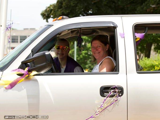 The 2014 Cranberry Blosssom Festival parade, June 22, 2014.