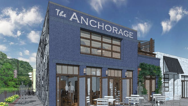 The Anchorage is set to open in The Village of West Greenville on October or early November 2016.