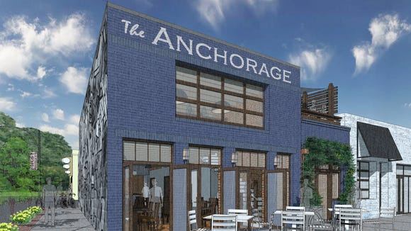 The Anchorage in the Village of West Greenville is coming along, and is on tap to open in mid-December, according to chef and owner, Greg McPhee.