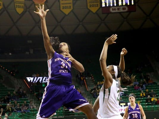 Northwestern St Baylor Basketball