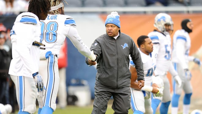 Golden Tate said the Lions maintained faith in Jim Caldwell, even during the 1-7 start last season.