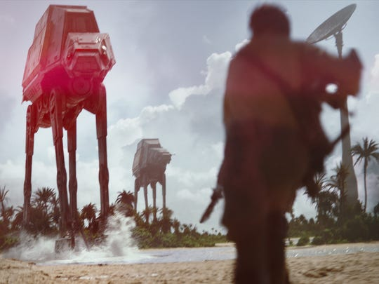 """A scene from """"Rogue One: A Star Wars Story."""""""