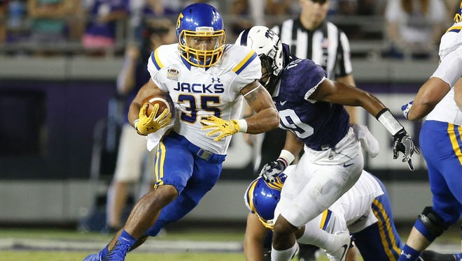 Isaac Wallace rushed for 112 yards in SDSU's 59-41 loss at TCU