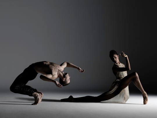 Dancers from Alonzo King Lines Ballet, which performs