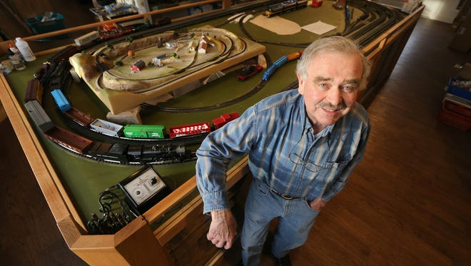 Stan Slade is owner of Despatch Junction in East Rochester.  The model train shop was destroyed by fire in 2014 but is back in business.