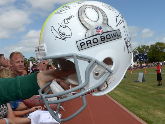USP NFL_ Pro Bowl Practice-Team Rice