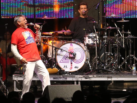 Little Joe y La Familia performs in Corpus Christi
