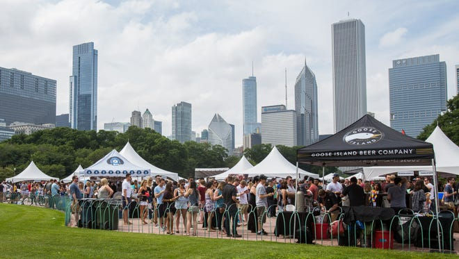 The bi-annual Chicago Ale Fest returns to Butler Field in Grant Park, June 23-24.