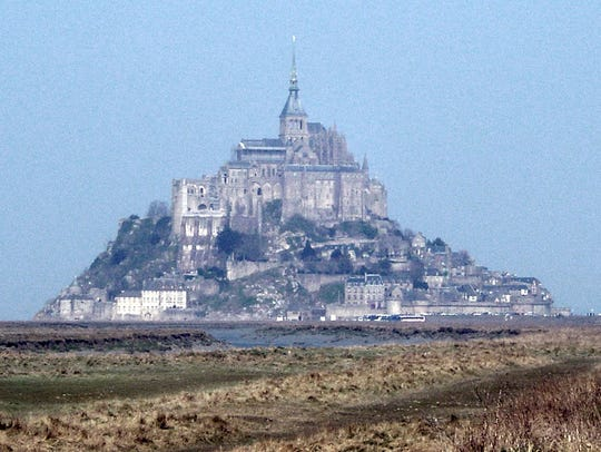 Mont-Saint-Michel, located in Normandy, France, is