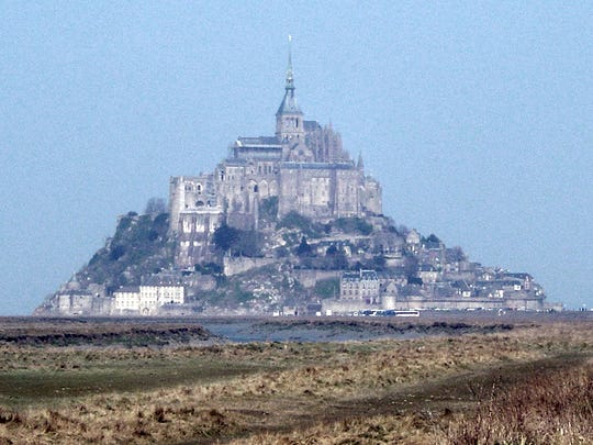 Mont-Saint-Michel, located in Normandy, France, is seen here. French architecture is the subject of an upcoming talk at New Mexico State University in Las Cruces.