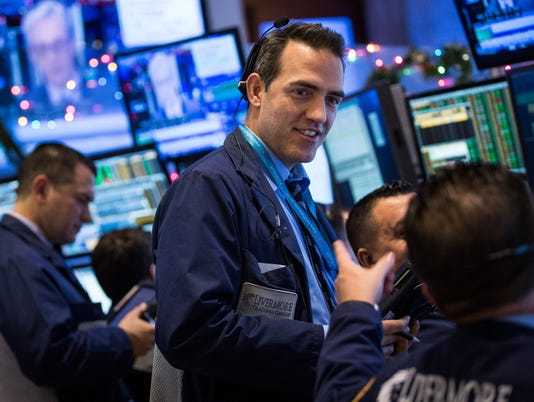 Stock futures up as S&P 500 nears record high
