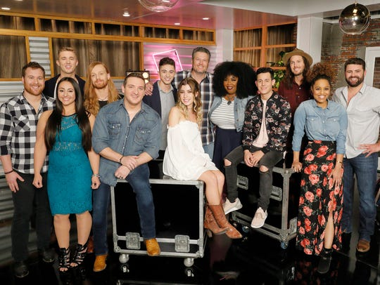 "THE VOICE -- ""Battle Reality"" -- Pictured: Team Blake"