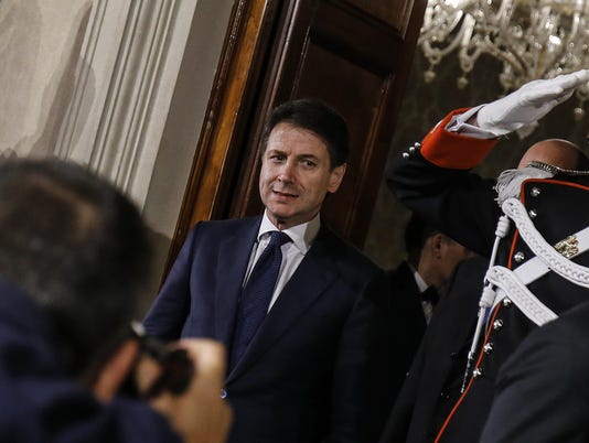 EPA ITALY POLITICS GOVERNMENT FORMING POL GOVERNMENT ITA