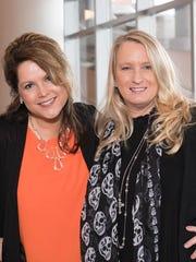 Tresa Halbrooks and Kim Dettwiller Burton.