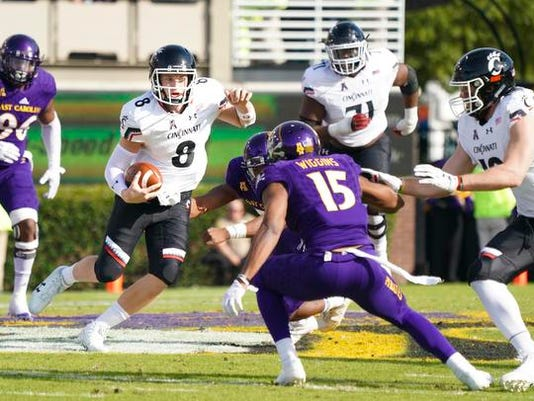 NCAA Football: Cincinnati at East Carolina