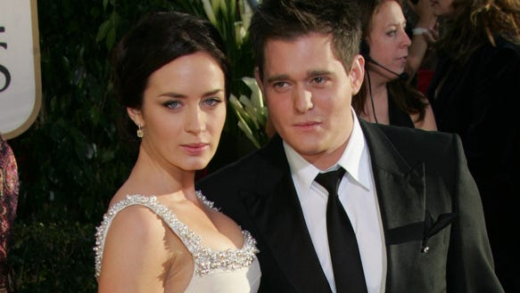 Michael Buble Emily Blunt Emily Blunt on those M...