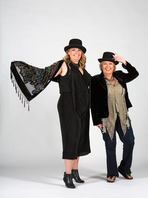 Earlene Venhoff, right, and her daughter Nicole Candler will be dressing as Stevie Nicks for an upcoming concert by the former Fleetwood Mac singer. Sept. 12, 2017